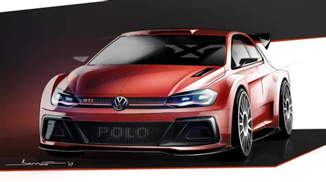 The VW Polo rally car is back!   Top Gear