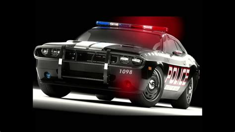 Police car Siren and Lights (Animated) HD - YouTube