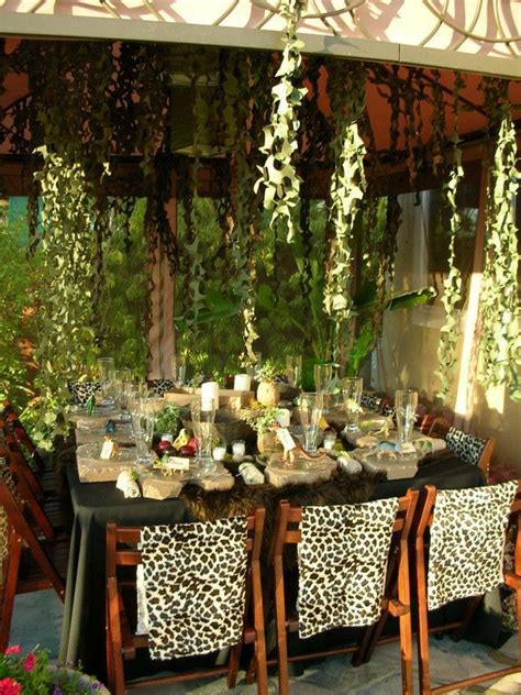 Image result for jungle theme party ideas for adults