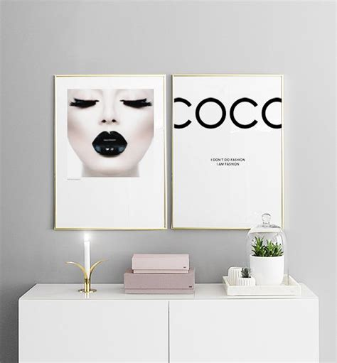 Coco, Poster | Chanel decor, Chanel bedroom, Bedroom posters