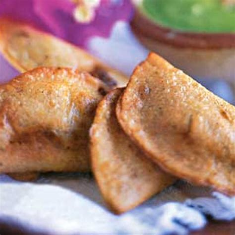 Fried Quesadillas with Two Fillings recipe   Epicurious