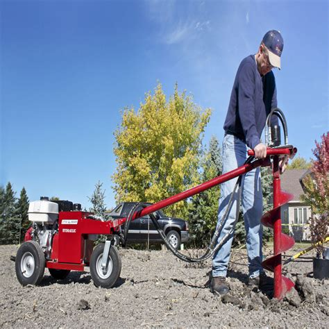 Hydraulic earth drills from Little Beaver  Public Works
