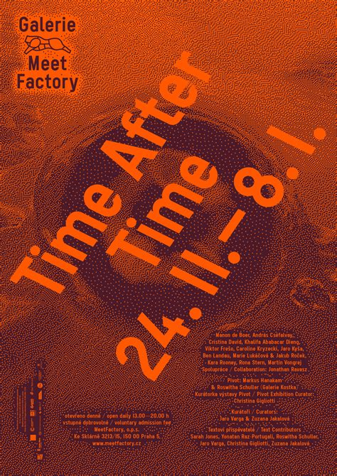 Time After Time | MeetFactory - Galerie MeetFactory - Time