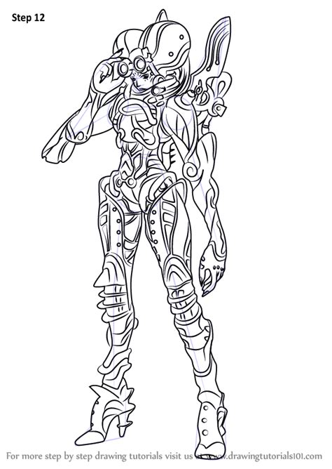 Learn How to Draw Linada from Xenoblade Chronicles