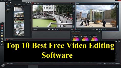 Top 10 Best Free Video Editing Software 2019 - Top To Find