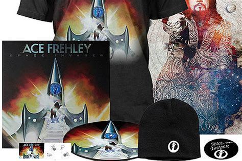 Win an Ace Frehley 'Space Invader' Vinyl Prize Pack