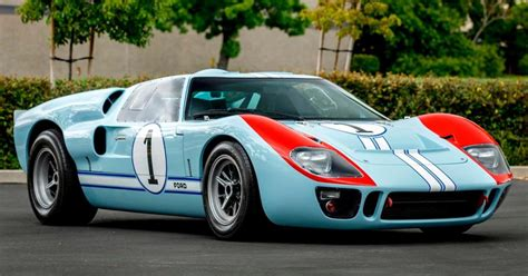 The Ford GT40 Replica Driven by Christian Bale in 'Ford V