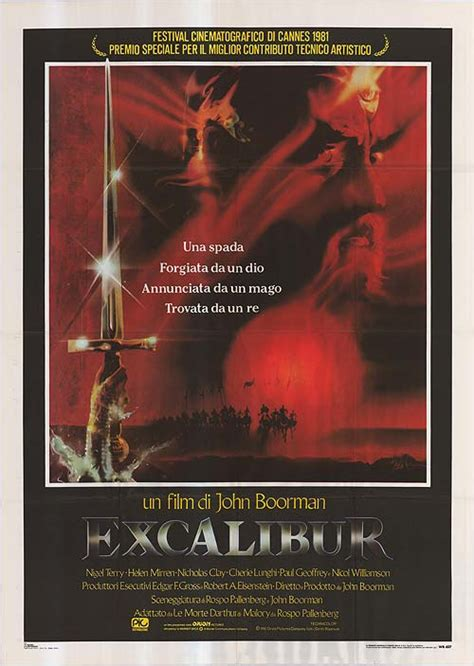 Excalibur movie posters at movie poster warehouse