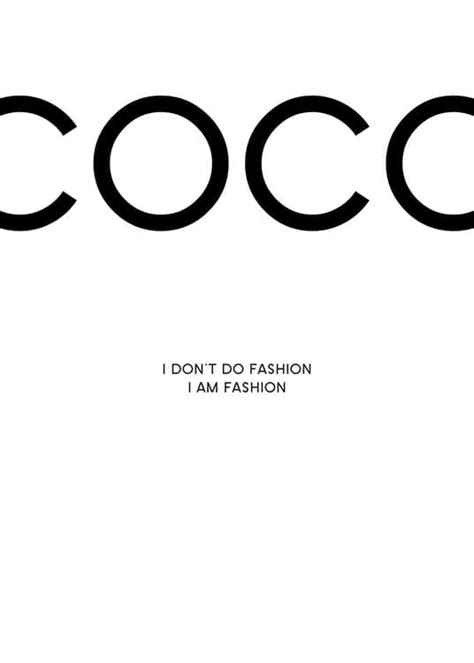 Coco Chanel print | Posters and prints with fashion