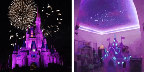 WHOA: One Dad Recreated the Disney Fireworks Show in His