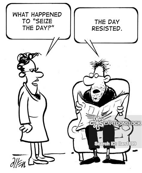 Carpe Diem Cartoons and Comics - funny pictures from