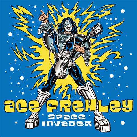 """Mitch O'Connell: Ace Frehley's """"Space Invader"""" Cover Art"""