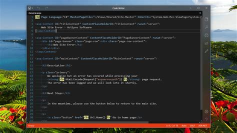 Code Writer - Text and code editor app with syntax