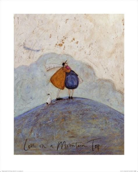 Sam Toft - Love on a Mountain Top Art Print   Buy at UKposters