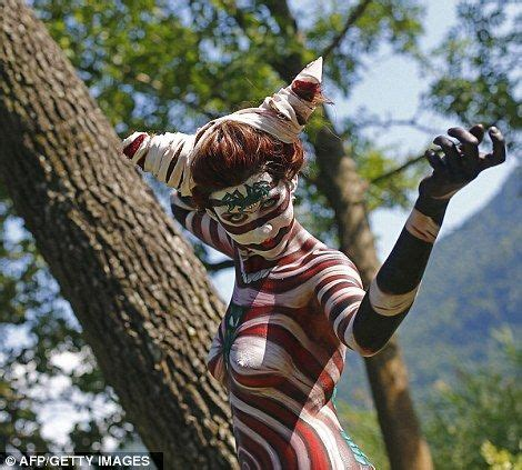 Paint stripper, World bodypainting festival and Exotic on