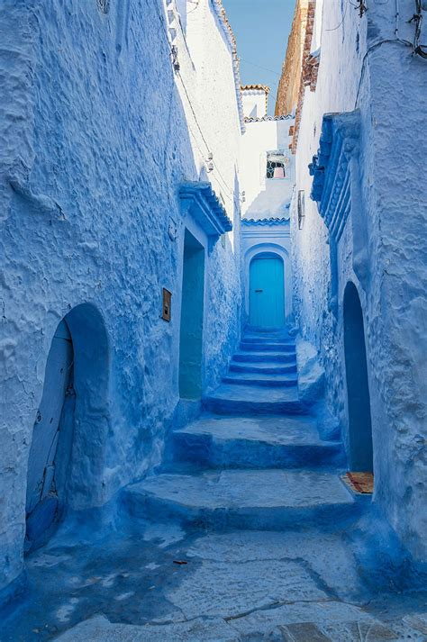 Why The City of Chefchaouen in Morocco is Entirely Blue