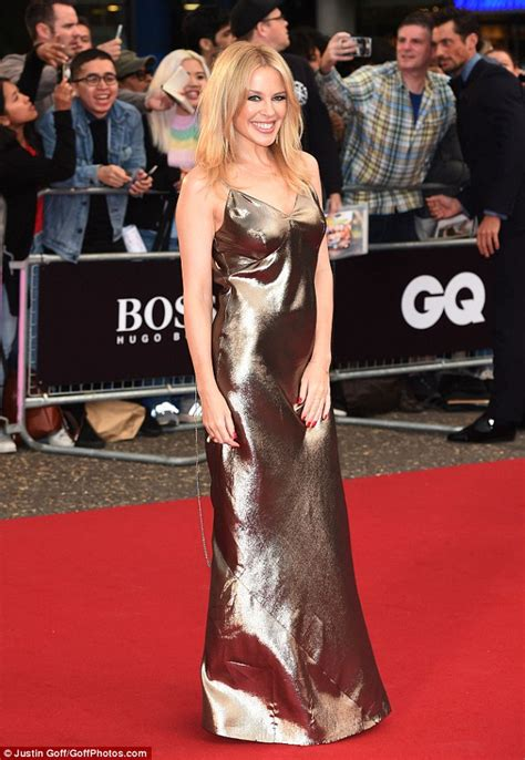 Kylie Minogue and new boyfriend Paul Solomons at GQ Awards