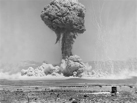 Funny thoughts on nuclear bombs