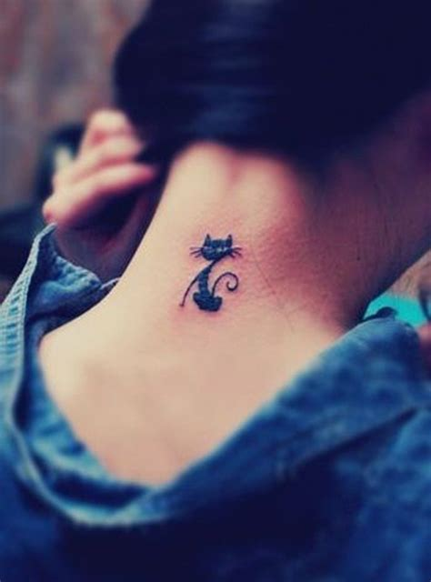 Cat Tattoo Designs For Girls: Most loved cat tattoos in 2017