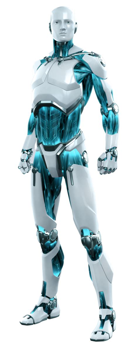 Picture gallery of ESET robot/android - CD/DVD Cover for