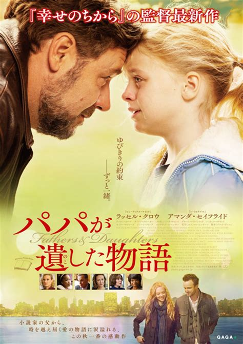First Trailer For 'Fathers and Daughters' With Russell