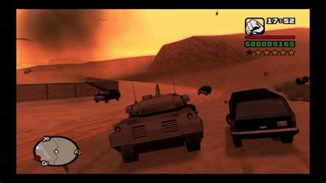 Grand Theft Auto: San Andreas - How to Get an Army Tank