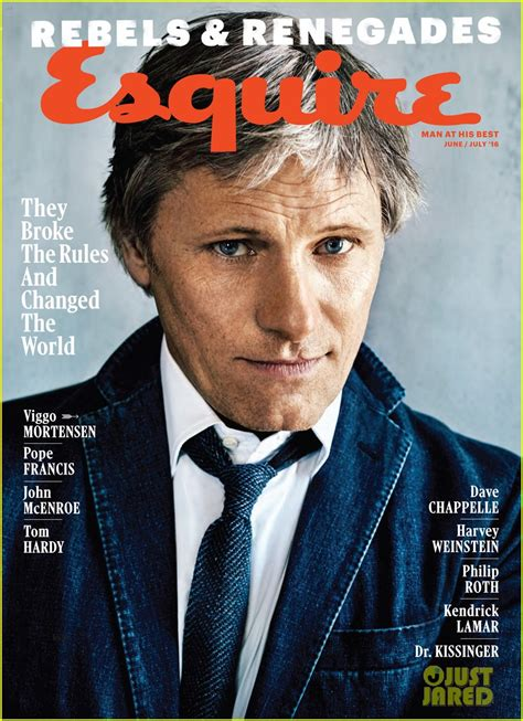 Viggo Mortensen Reveals Why He Turned Down Lots of Roles