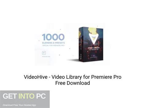 VideoHive - Video Library for Premiere Pro Free Download