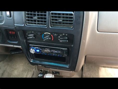1998 - 2004 Toyota Tacoma Stereo Install Pioneer DEH