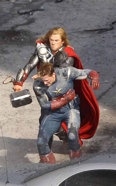 See Thor and Captain America Beat the Crap Out of Alien