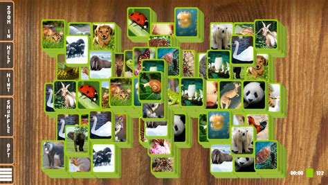 jeux animal mahjong solitaire