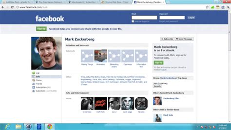Restore Old Facebook Profiles With Timeline Remove for