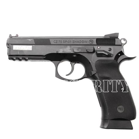 Airsoft pistol CZ 75 SP-01 Shadow, spring cal