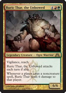 Ruric Thar, the Unbowed from Dragon's Maze Spoiler